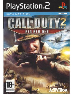 CALL OF DUTY 2 BIG RED ONE voor Playstation 2