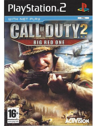 CALL OF DUTY 2 BIG RED ONE voor Playstation 2 PS2