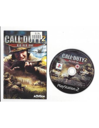 CALL OF DUTY 2 BIG RED ONE für Playstation 2 PS2