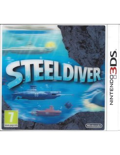 STEEL DIVER for Nintendo 3DS - manual in English