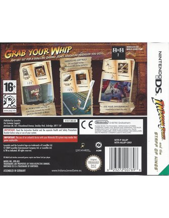 INDIANA JONES AND THE STAFF OF KINGS für Nintendo DS
