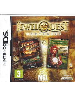 JEWEL QUEST MYSTERIES for Nintendo DS