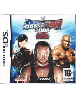 WWE SMACKDOWN VS RAW 2008 for Nintendo DS