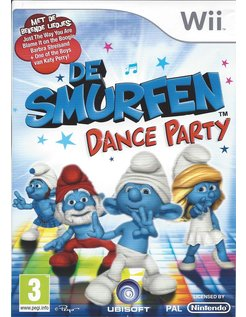 DE SMURFEN DANCE PARTY voor Nintendo Wii