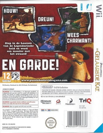 DE GELAARSDE KAT voor Nintendo Wii
