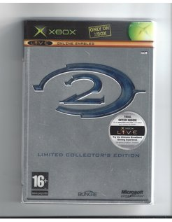 HALO 2 LIMITED COLLECTOR'S EDITION for Xbox - STEELBOOK