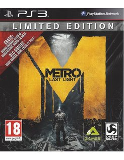 METRO LAST LIGHT voor Playstation 3 PS3
