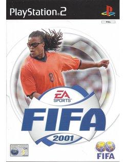 FIFA 2001 voor Playstation 2 PS2