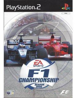 F1 CHAMPIONSHIP SEASON 2000 für Playstation 2 PS2