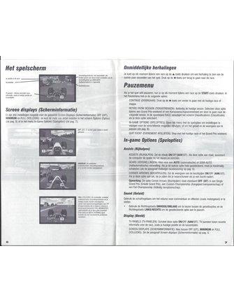 F1 CHAMPIONSHIP SEASON 2000 voor Playstation 2 PS2