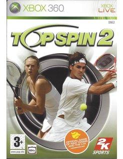TOP SPIN 2 voor Xbox 360