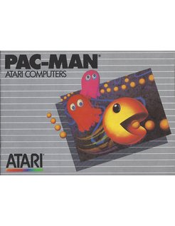 MANUAL voor ATARI XE/XL GAME CARTRIDGE PAC-MAN