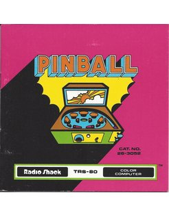 MANUAL für TRS-80 GAME PINBALL