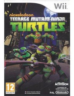 TMNT TEENAGE MUTANT NINJA TURTLES voor Nintendo Wii