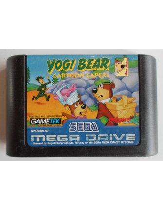 YOGI BEAR CARTOON CAPERS voor Sega Mega Drive