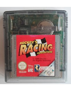 MICKEY'S RACING ADVENTURE für Nintendo Game Boy Color GBC