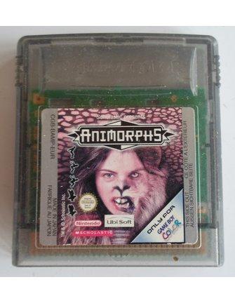 ANIMORPHS voor Nintendo Game Boy Color GBC