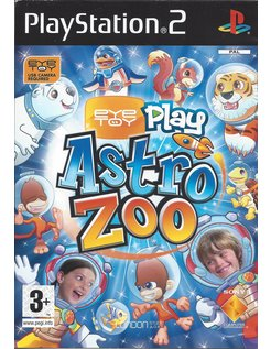 EYETOY PLAY ASTRO ZOO voor Playstation 2 PS2