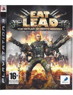 EAT LEAD THE RETURN OF MATT HAZARD voor Playstation 3 PS3