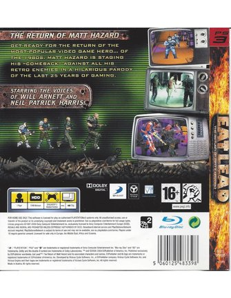 EAT LEAD THE RETURN OF MATT HAZARD voor Playstation 3 PS3