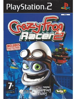 CRAZY FROG RACER 2 voor Playstation 2 PS2