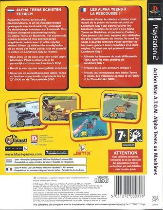 ACTION MAN ATOM Alpha Teens On Machines voor Playstation 2 PS2