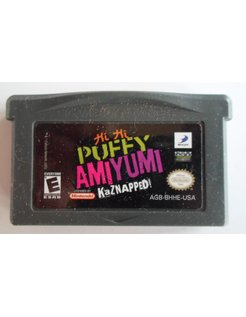 PUFFY AMI YUMI KAZNAPPED voor Game Boy Advance GBA