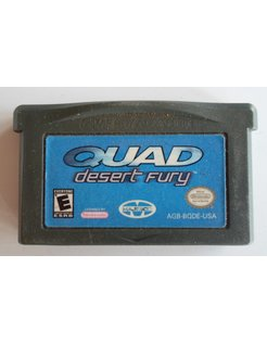 QUAD DESERT FURY voor Game Boy Advance GBA