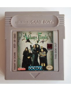 THE ADDAMS FAMILY for Nintendo Game Boy