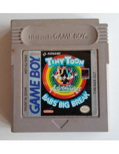 TINY TOON ADVENTURES BABS' BIG BREAK for Nintendo Game Boy