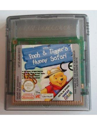 POOH AND TIGGER'S HUNNY SAFARI für Nintendo Game Boy Color GBC