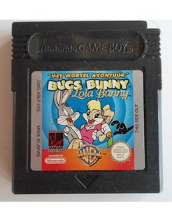 BUGS BUNNY AND LOLA BUNNY HET WORTELAVONTUUR für Nintendo Game Boy Color GBC