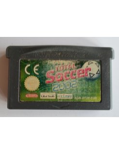 TOTAL SOCCER 2002 voor Game Boy Advance GBA