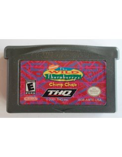 THE WILD THORNBERRY'S CHIMP CHASE for Game Boy Advance GBA