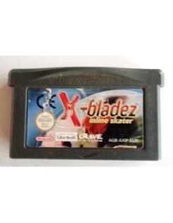 X-BLADEZ INLINE SKATER voor Game Boy Advance GBA