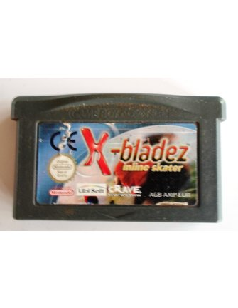 X-BLADEZ INLINE SKATER for Game Boy Advance GBA