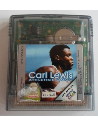 CARL LEWIS ATHLETICS 2000 for Nintendo Game Boy Color GBC