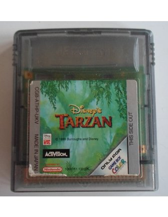 DISNEY'S TARZAN for Nintendo Game Boy Color GBC