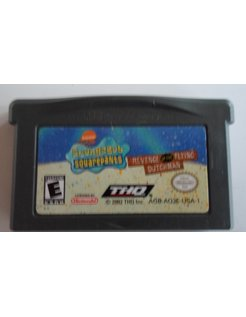 SPONGEBOB SQUAREPANTS REVENGE OF THE FLYING DUTCHMAN voor Game Boy Advance GBA