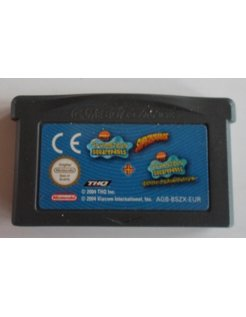 SPONGEBOB SQUAREPANTS SUPERSPONGE & BATTLE FOR BIKINI BOTTOM voor GBA