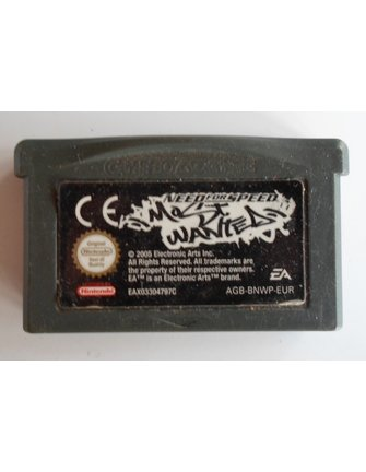 NEED FOR SPEED MOST WANTED for Game Boy Advance GBA
