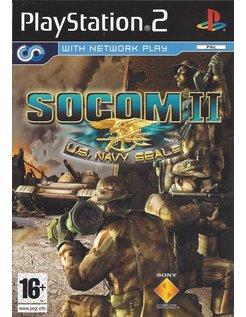 SOCOM II (2) US NAVY SEALS voor Playstation 2 PS2