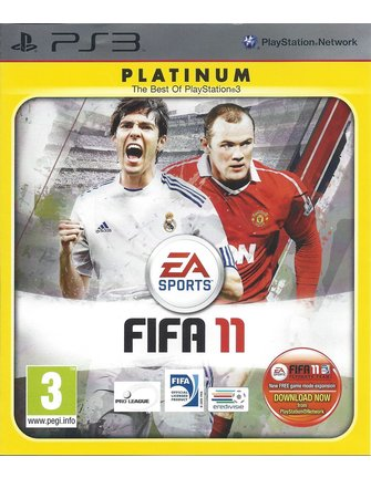 FIFA 11 for Playstation 3 PS3