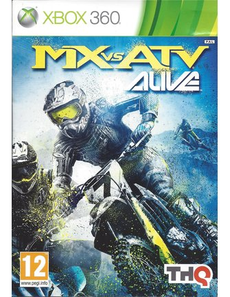 MX VS ATV ALIVE for Xbox 360
