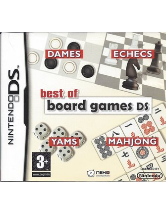 BEST OF BOARD GAMES DS for Nintendo DS