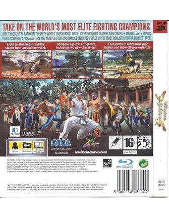 VIRTUA FIGHTER 5 für Playstation 3 PS3