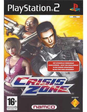 CRISIS ZONE für Playstation 2 PS2