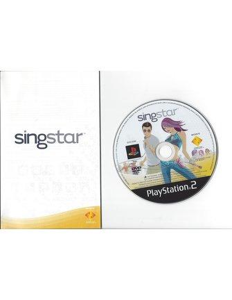 SINGSTAR for Playstation 2 PS2
