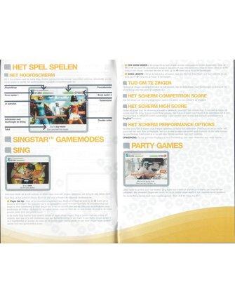 SINGSTAR für Playstation 2 PS2