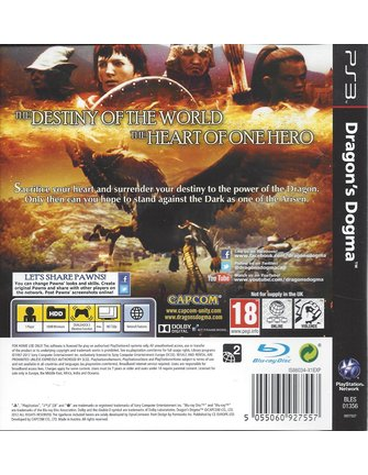 DRAGON'S DOGMA voor Playstation 3 PS3